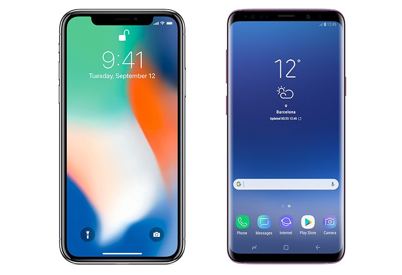 iPhone X VS Galaxy S9: Apple vince nei benchmark