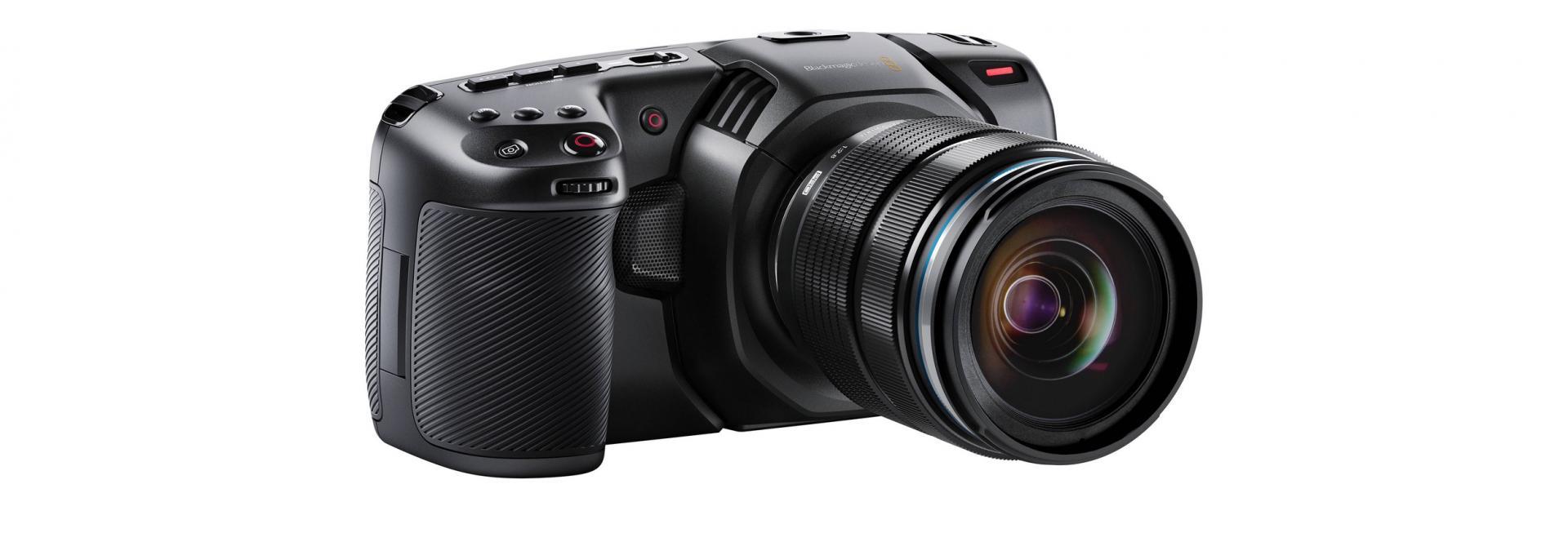 Blackmagic Pocket Cinema Camera 4K gira film in 4K RAW