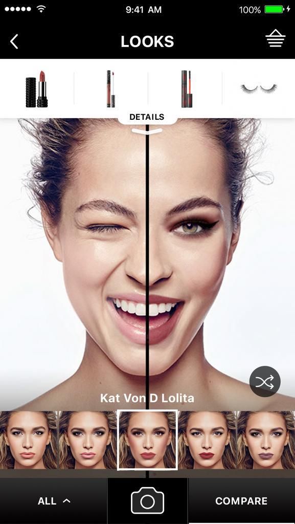 L'assistente virtuale Sephora modiface