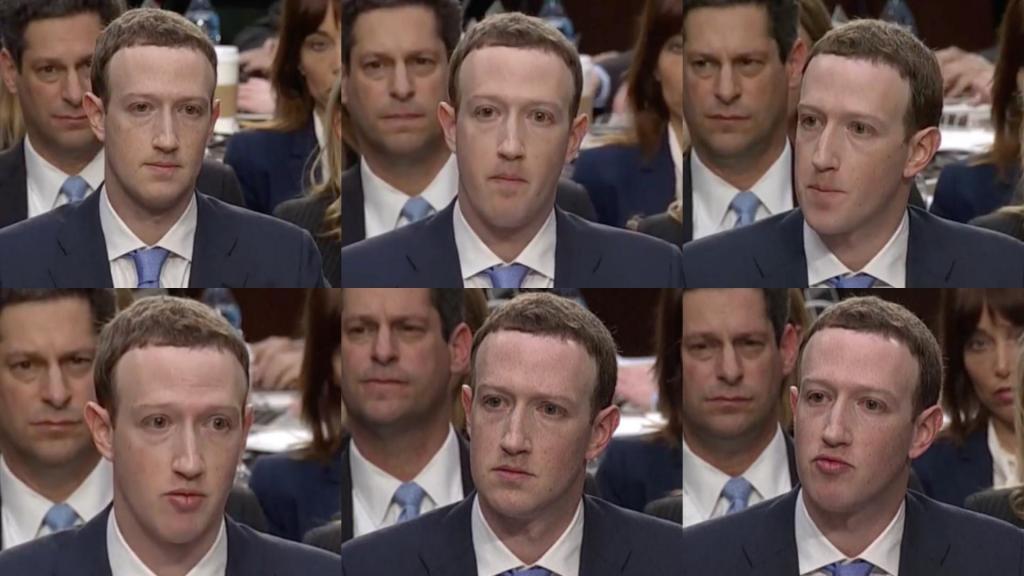 Le risposte di Zuckerberg al Congresso USA