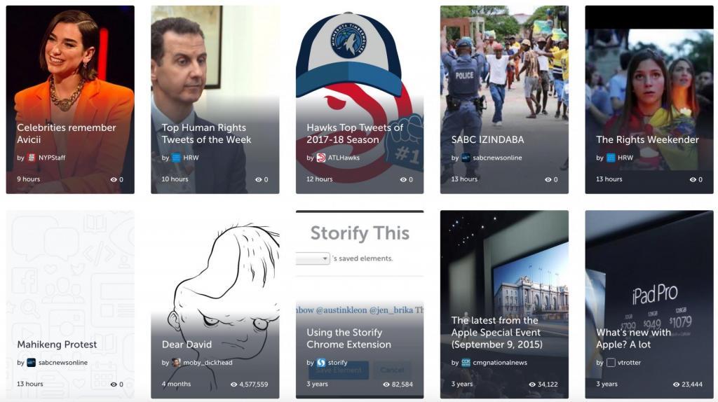 Storify chiude alternative