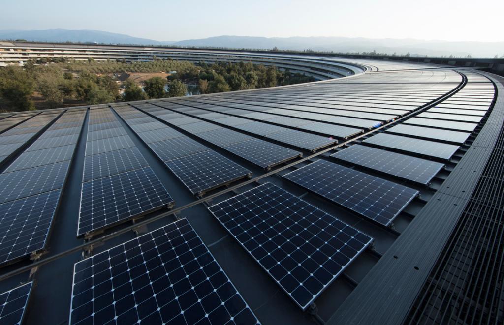 apple energia rinnovabile