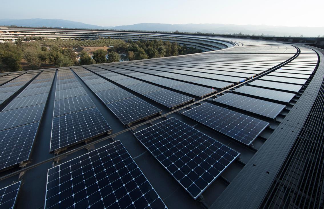 Apple è ora alimentata al 100% da energia rinnovabile