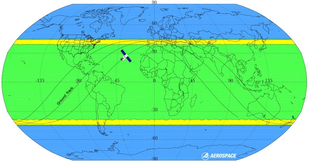 Stazione spaziale cinese dove cadrà Tiangong-1