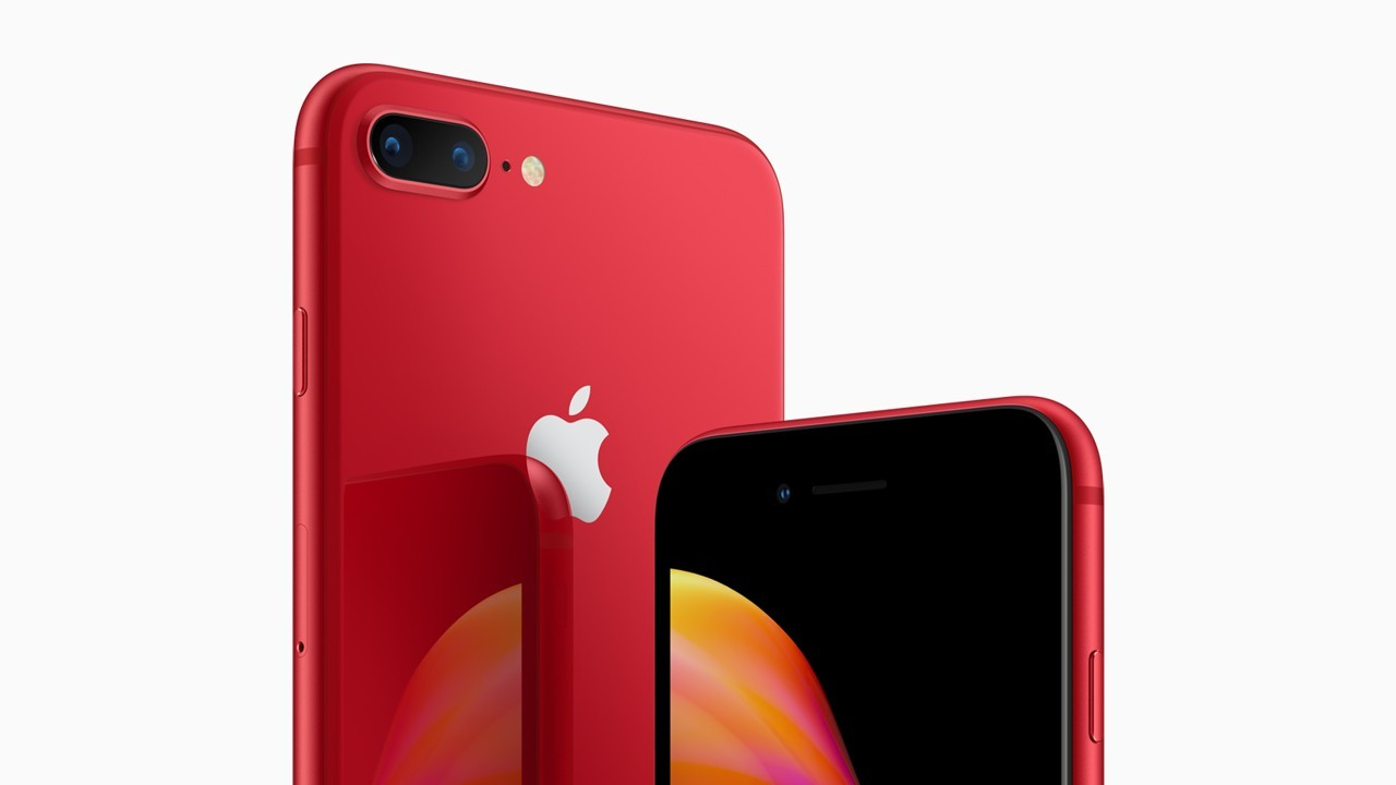 iPhone 8 (PRODUCT)RED, la special edition contro l'Aids