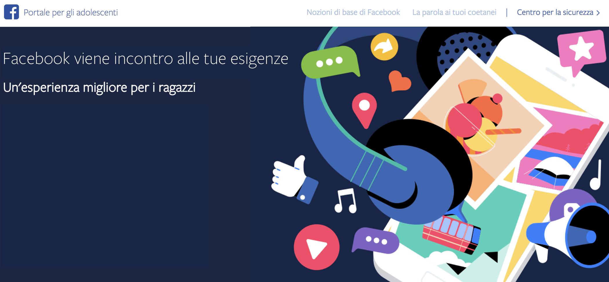 Facebook : 10 consigli per gli adolescenti