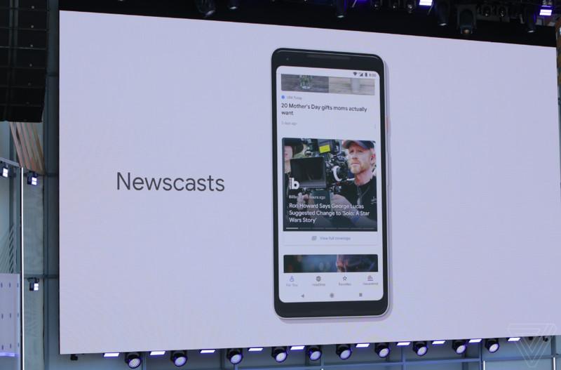 nuovo google news con feed di notizie personalizzato