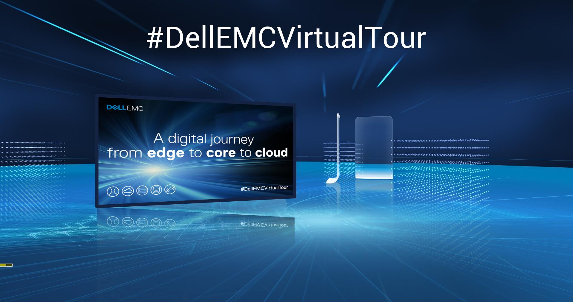 Iscriviti al Dell EMC Virtual Tour 2 giorni di formazione online: 12 e 13 giugno
