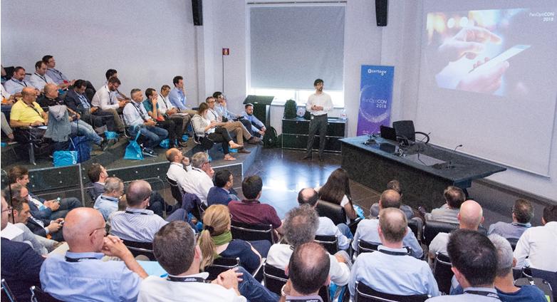PanOptiCON2018 - la user conference Certego tenutasi al Museo Lamborghini il 19 giugno scorso dove è stata presentata la nuova piattaforma di Threat Intelligence Panoptikon