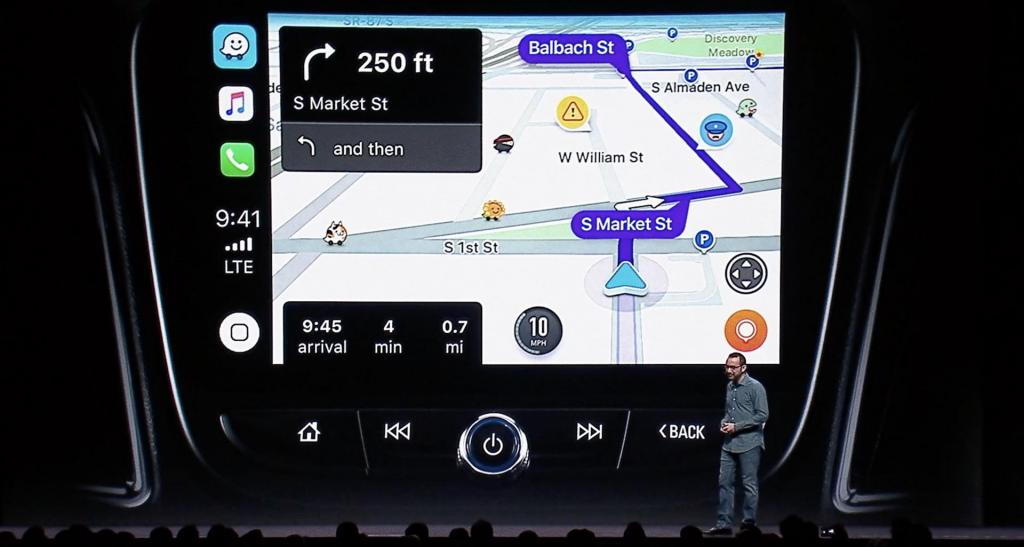 apple carplay arrivano waze e google maps con ios 12 digitalic. Black Bedroom Furniture Sets. Home Design Ideas