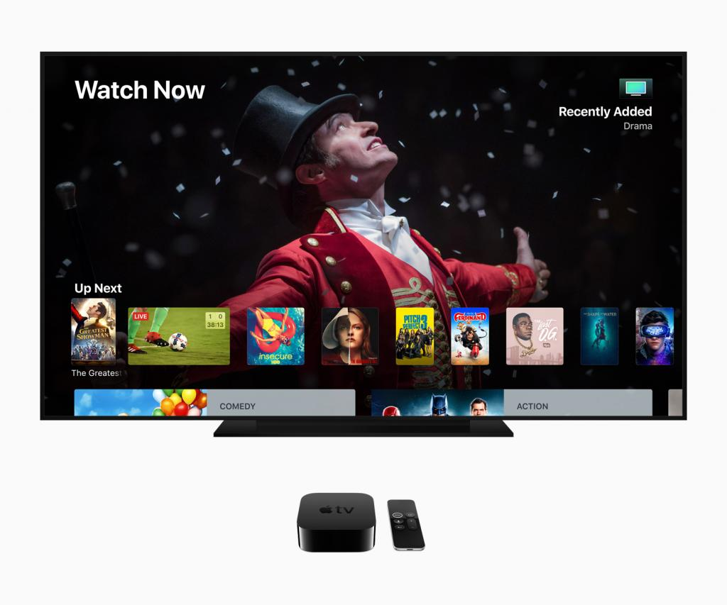 Apple TV 4K tvOS 12