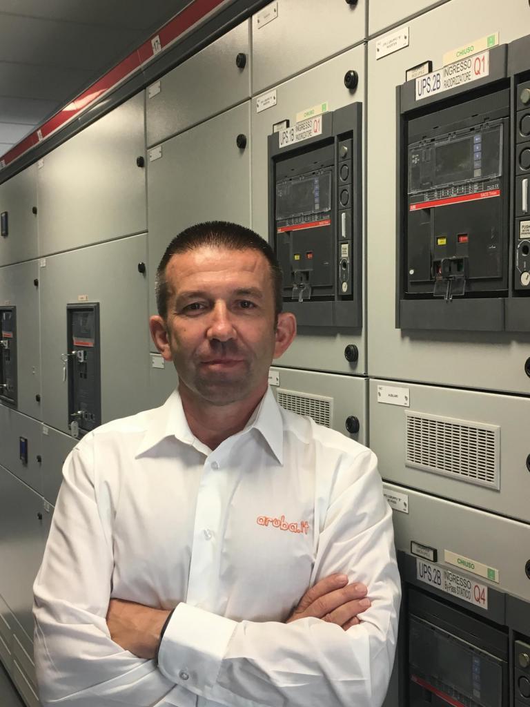 Alessandro Bruschini, Infrastructure Manager di Aruba data center green