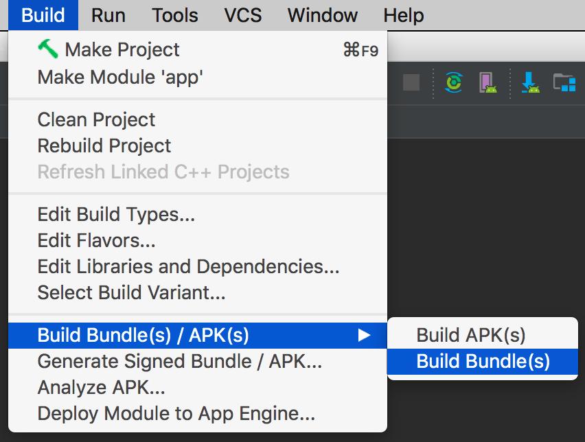 android studio versione 3.2 beta