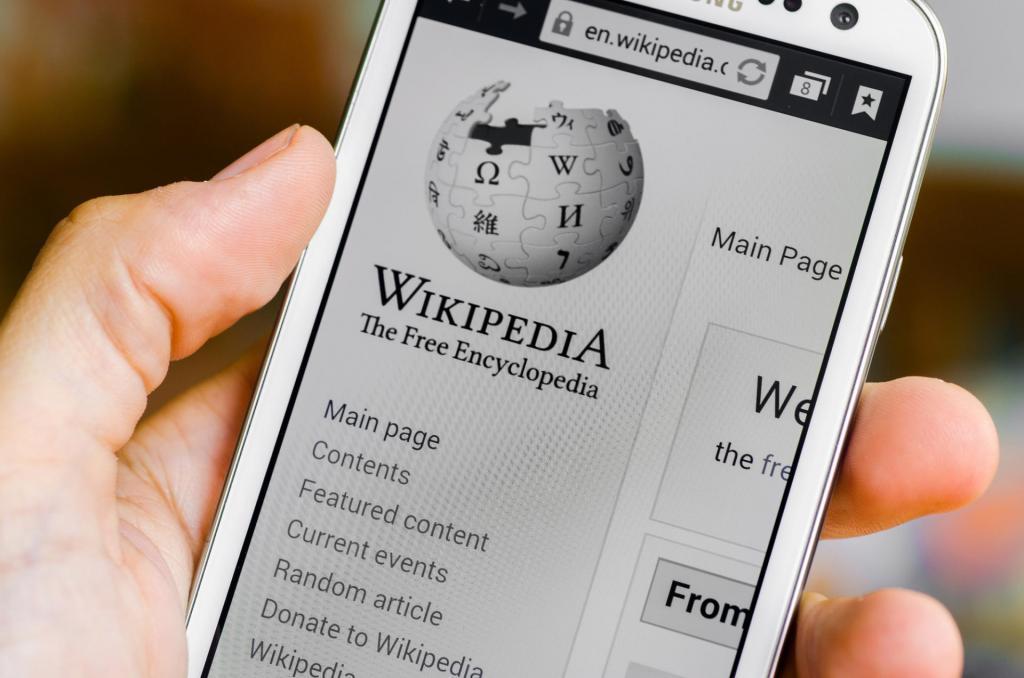 wikipedia bloccata