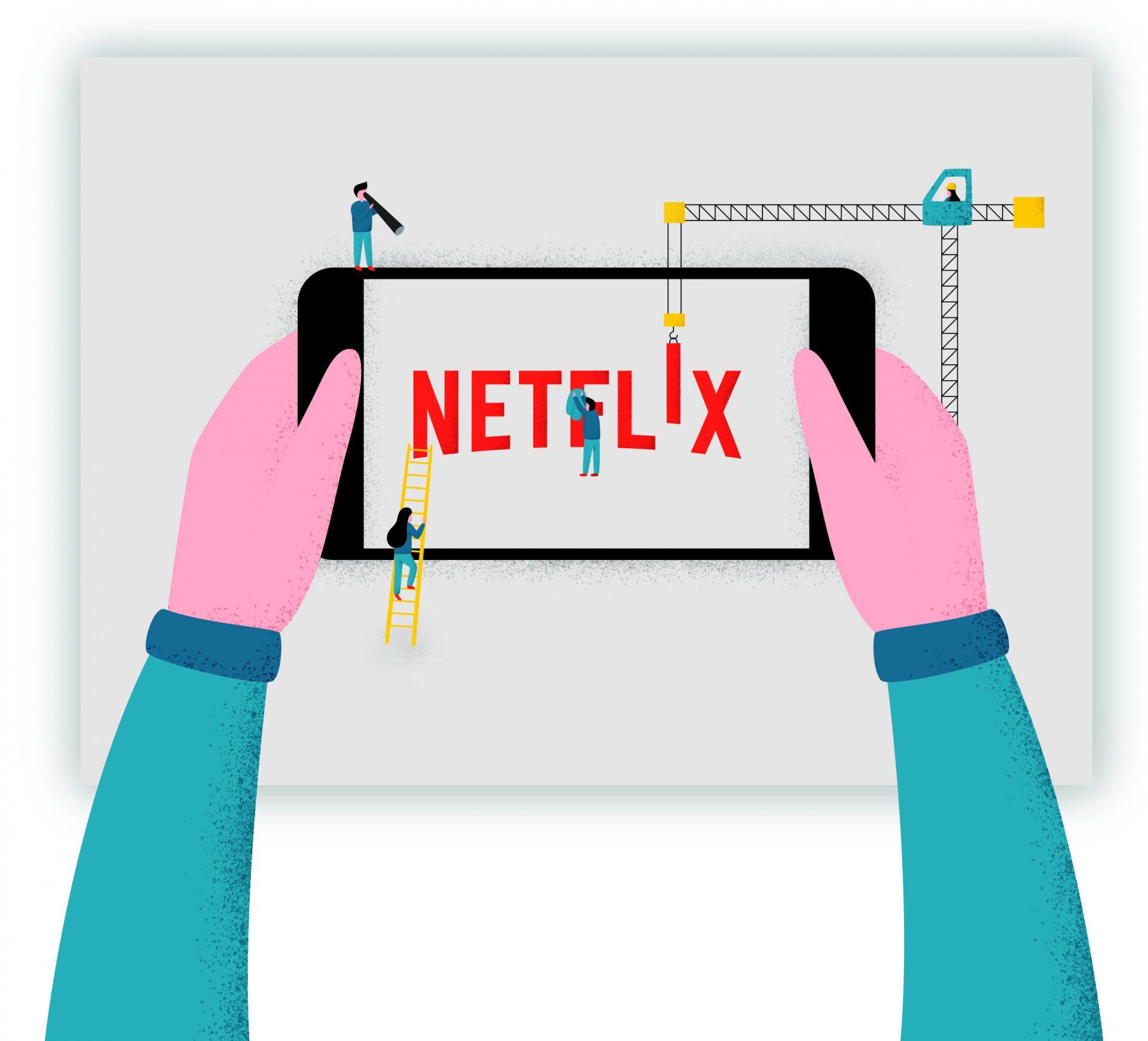Le ragioni del successo di Netflix VS TV