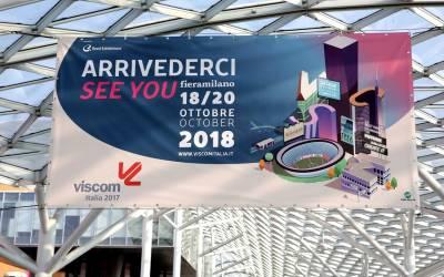 I sapori della comunicazione visiva a Viscom Italia 2018