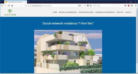 Social Network di Condominio Tewa