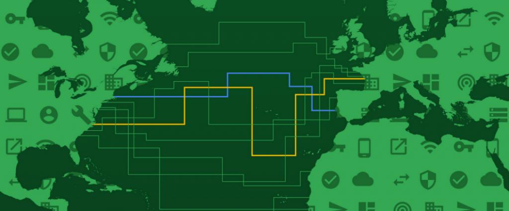 dunant cavo sottomarino Google privato
