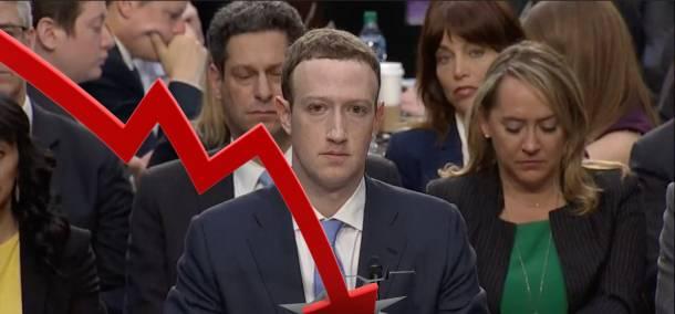 facebook crollo in borsa