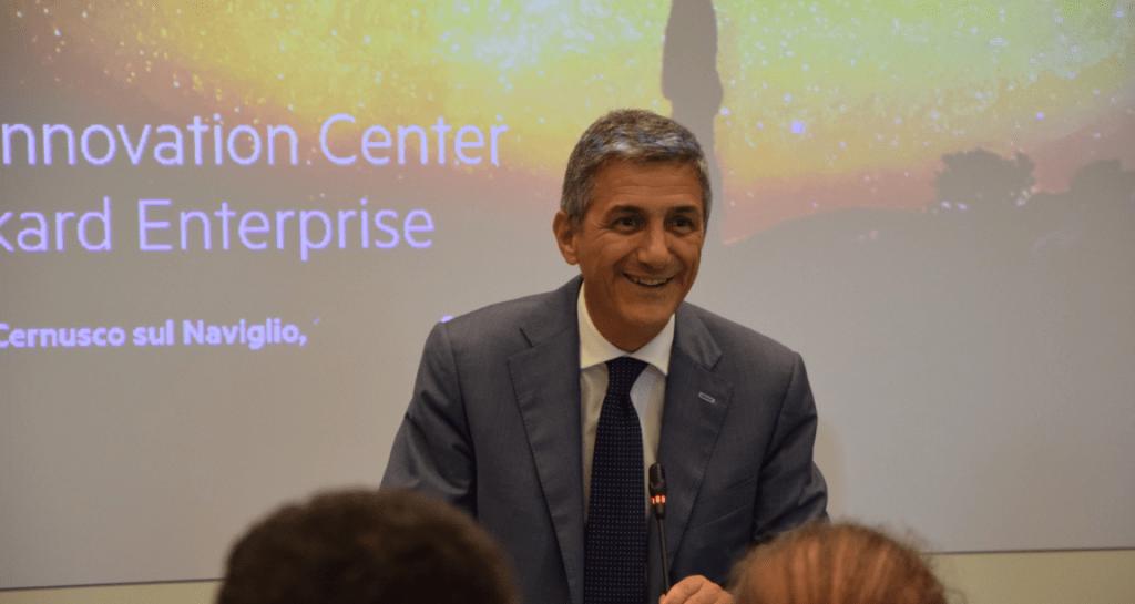 Stefano Venturi, President & CEO Hewlett Packard Enterprise Italy - Vice President Hewlett Packard Enterprise
