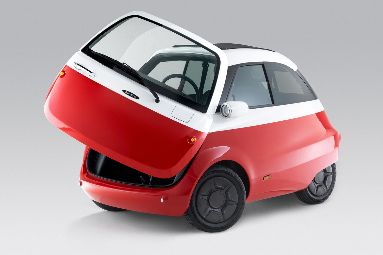 Microlino, arriva la microcar elettrica ispirata all'Isetta BMW