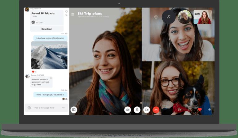 nuovo skype 8.0 desktop