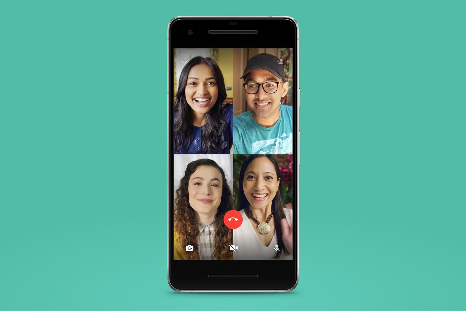 Videochiamate su WhatsApp: si arriva ad 8 partecipanti