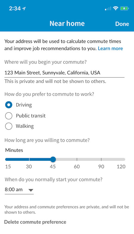 LinkedIn Your Commute
