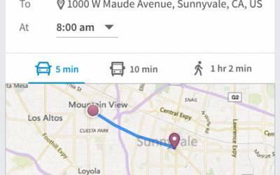 Your Commute LinkedIn trova il migliore percorso casa-ufficio