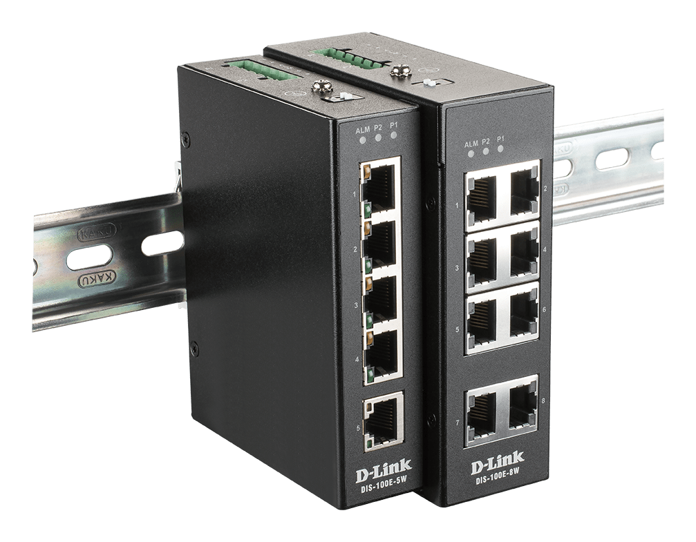 DLink Switch Industriali