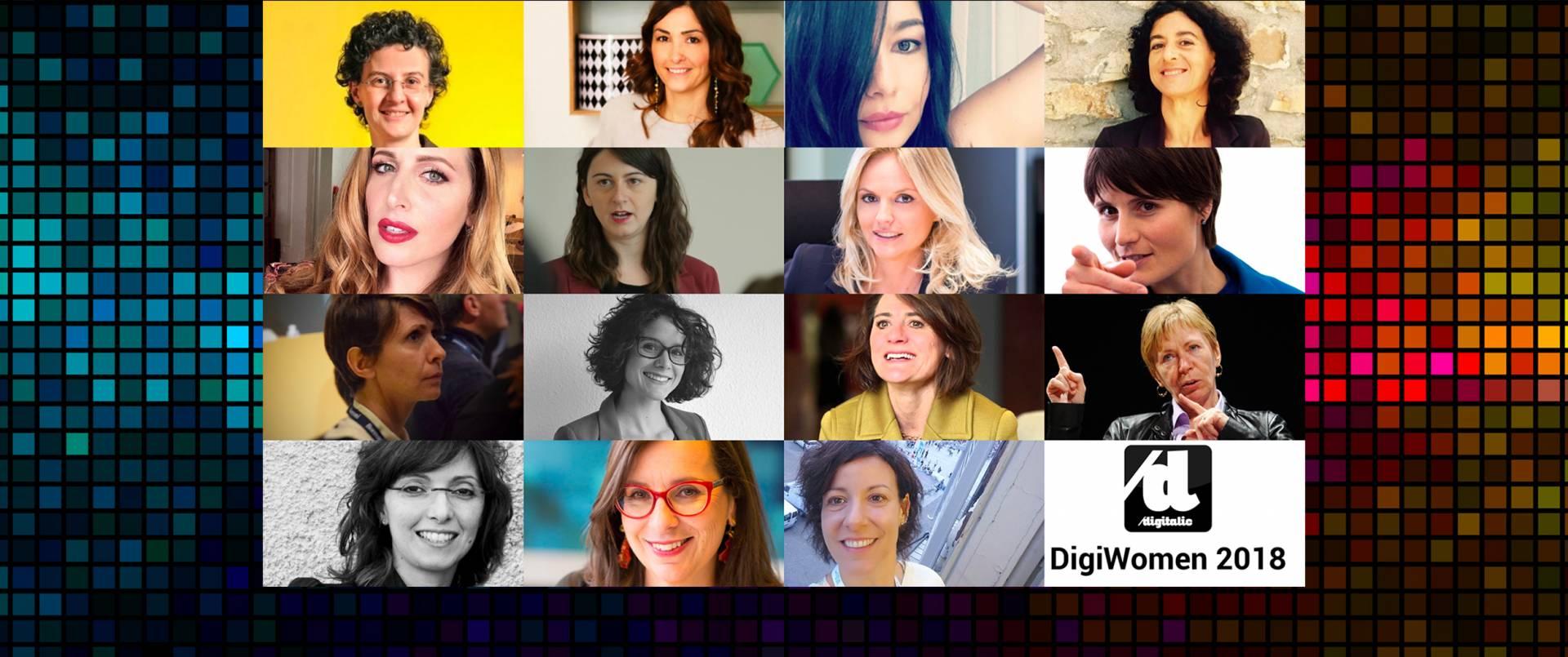 Le 15 donne più influenti nel digitale in Italia: Digiwomen 2018