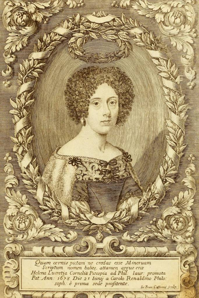 Elena Lucrezia Cornaro prima donna laureata