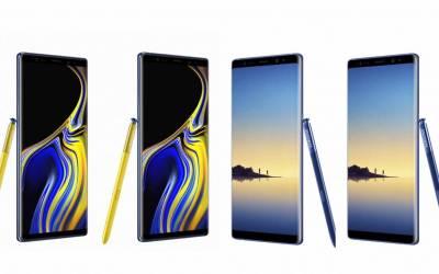 Galaxy Note 9 VS Galaxy Note 8: il confronto
