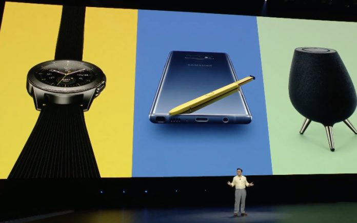 Galaxy Note 9 Galaxy Watch Galaxy Home