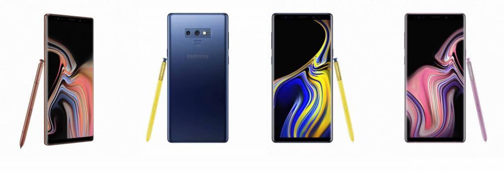 Samsung-Galaxy-Note-9 Dieci anni Android
