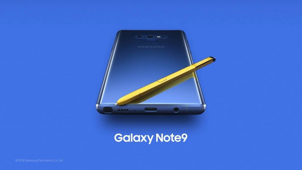 Galaxy Note 9 Live Streaming