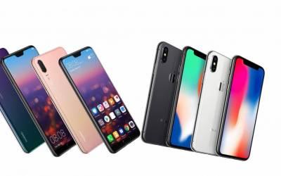 Vendite smartphone : Huawei supera Apple e arriva al 2° posto