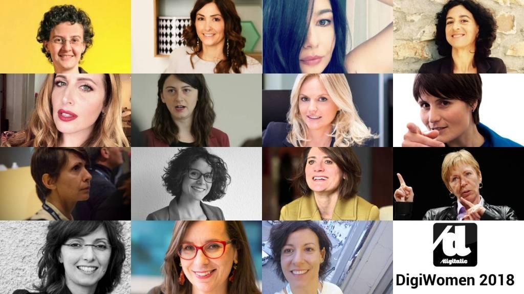 e Donne più influenti del digitale 2018 DigiWomen