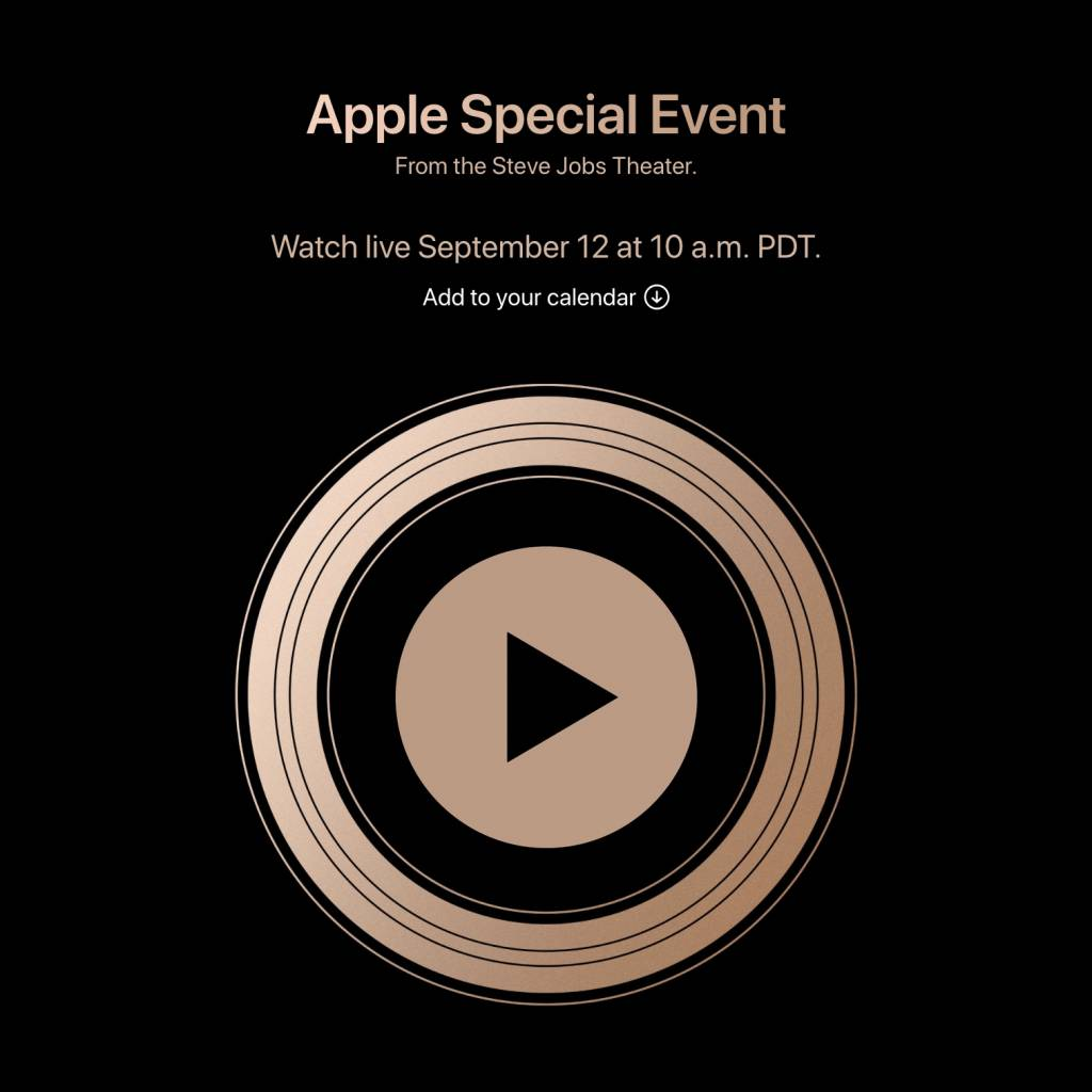 Evento Apple Live streaming