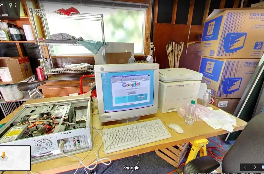 20 anni google garage di menlo park