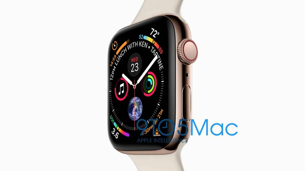 nuovo apple watch 4 immagini trapelate