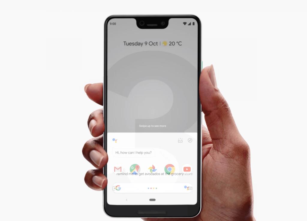 Evento Google Novità Pixel 3