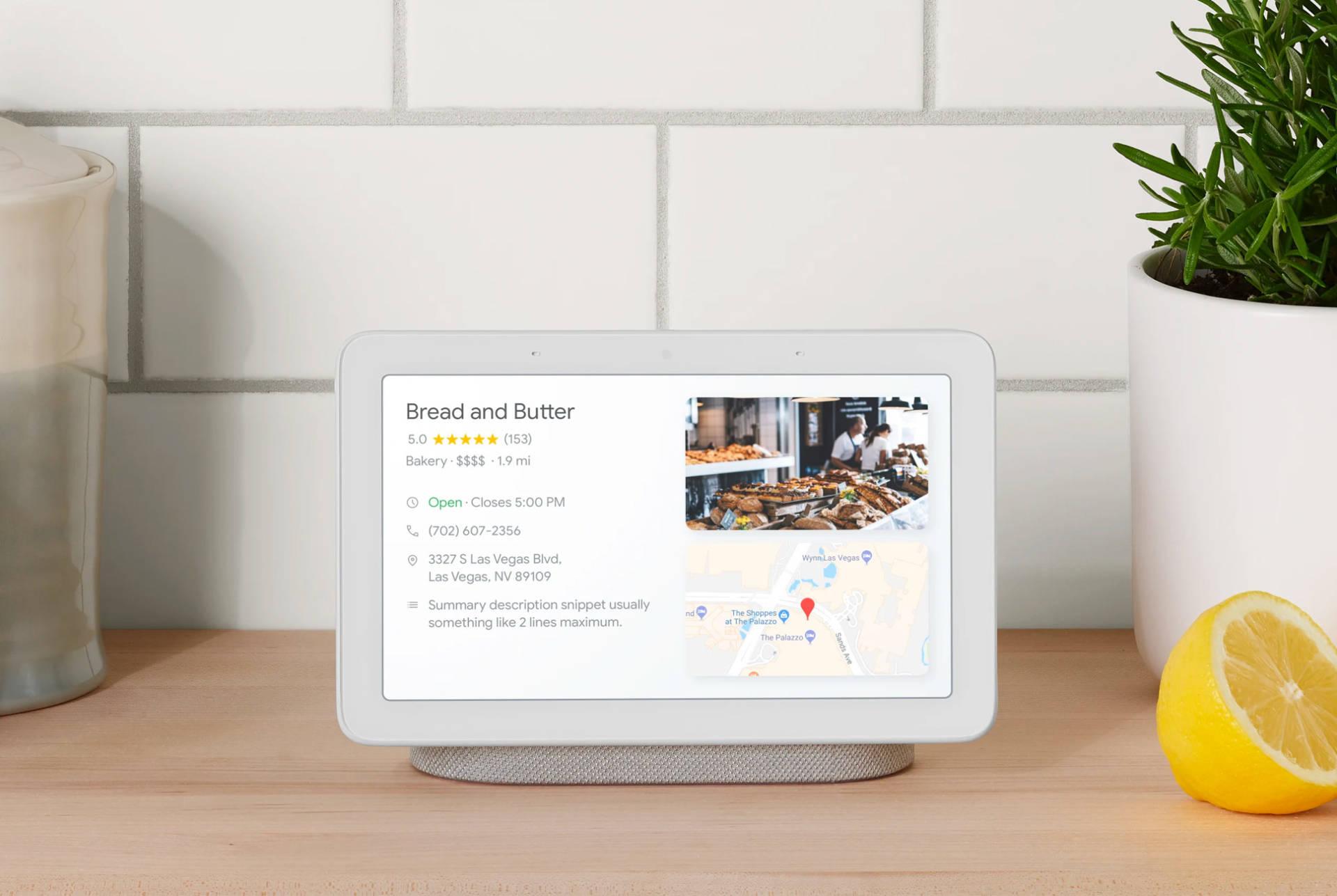 Google Home Hub cos'è e come funziona lo smart display di big G