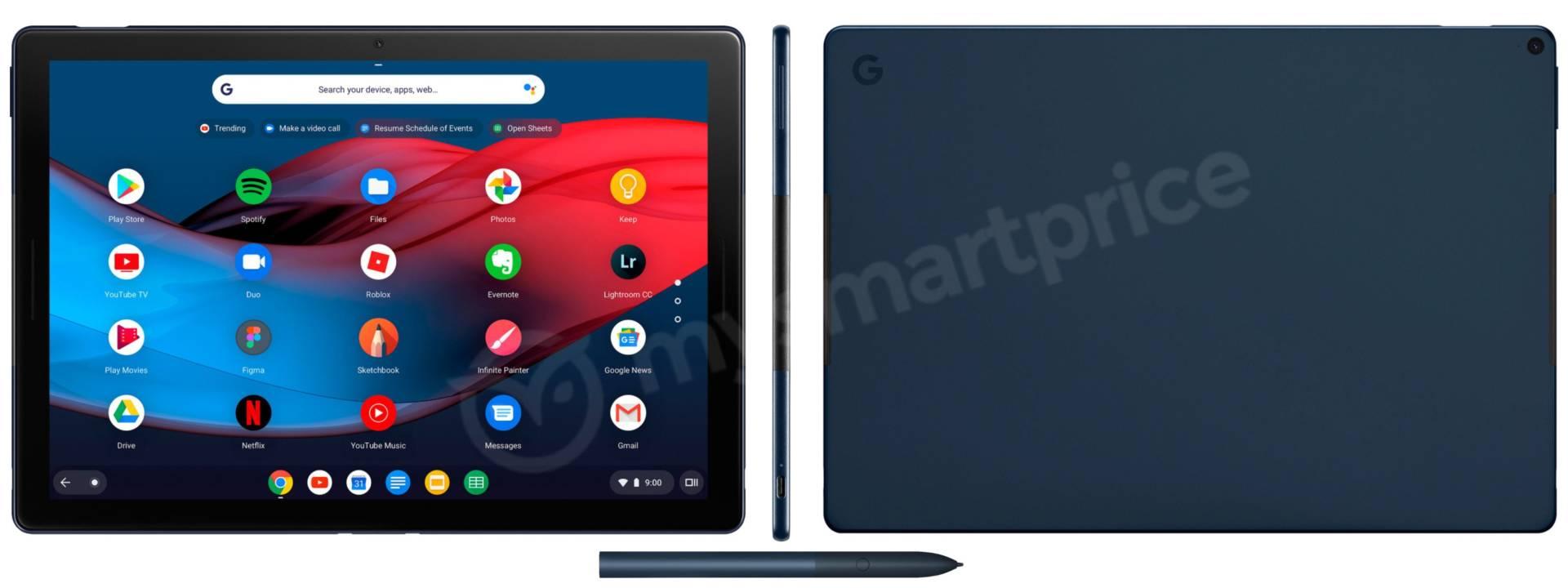 Google Pixel Slate: in arrivo il concorrente diretto di iPad?