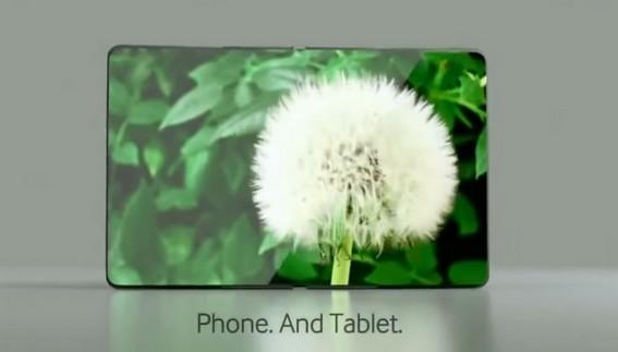 Telefono pieghevole tablet