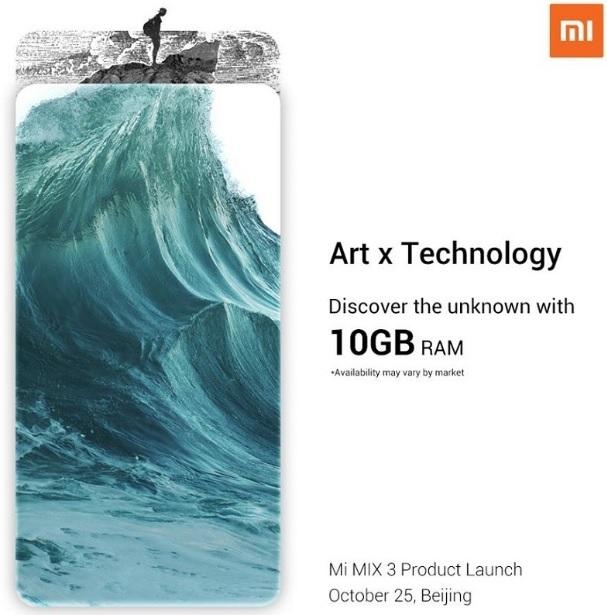 Xiaomi Mi MIX 3 10 GB RAM