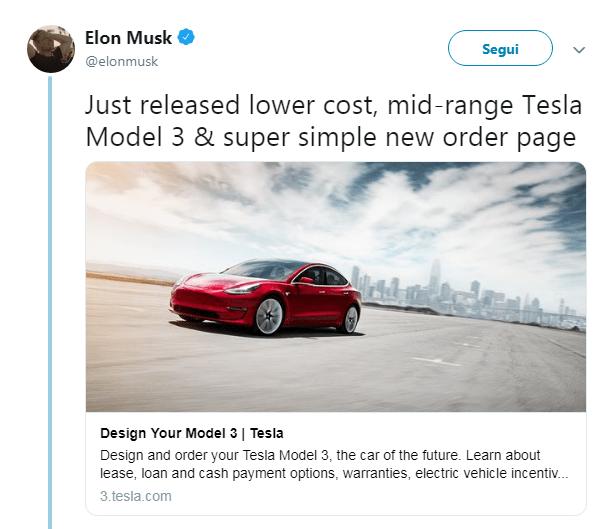 musk_ tesla model 3 economica