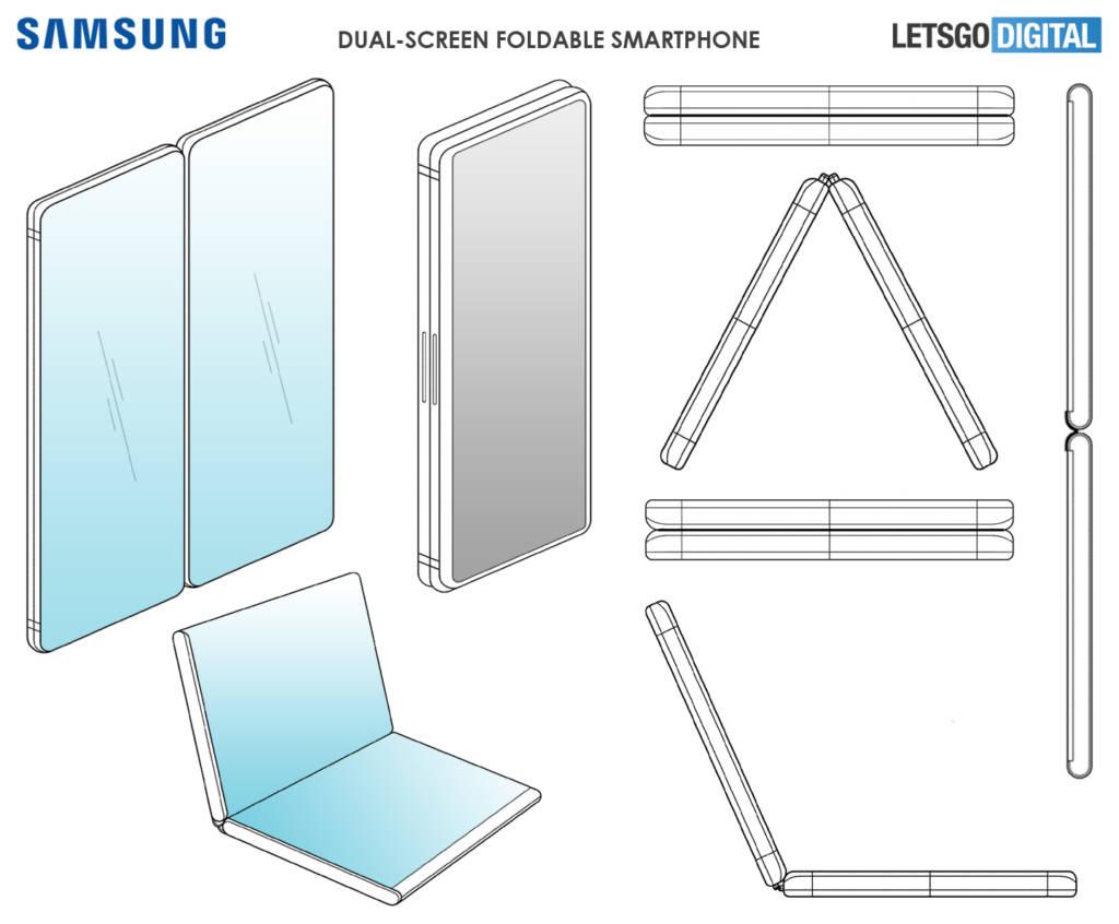 Brevetto pieghevole Samsung