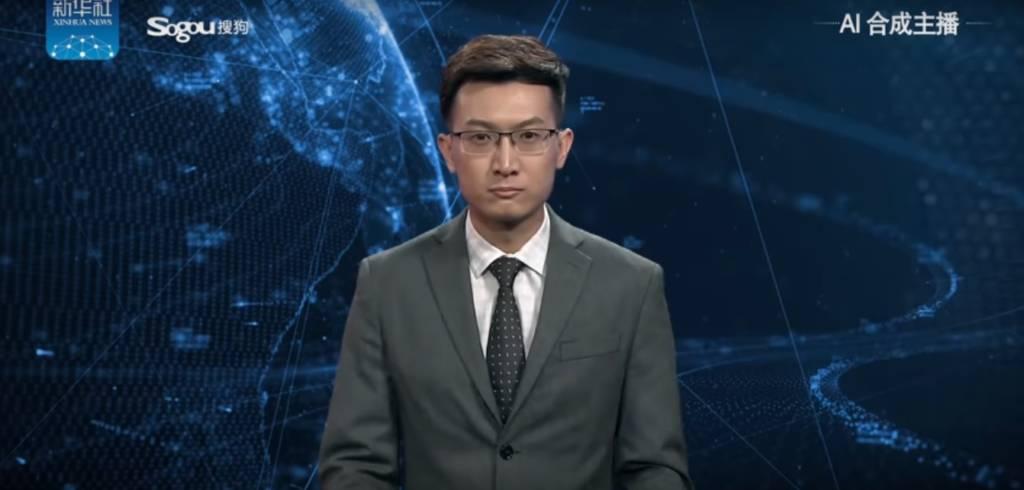Giornalista virtuale cinese