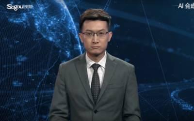 Intelligenza artificiale: in Cina debutta il primo giornalista virtuale